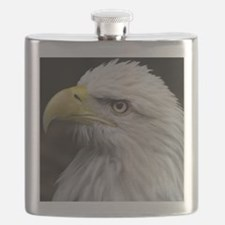 Cute Bald eagles Flask