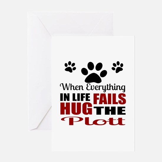 Hug The Plott Greeting Card