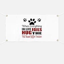 Hug The Petit Basset Griffon Vendeen Banner