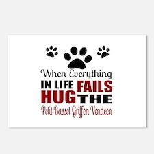 Hug The Petit Basset Grif Postcards (Package of 8)