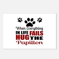 Hug The Papillon Postcards (Package of 8)