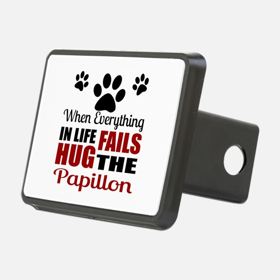 Hug The Papillon Hitch Cover