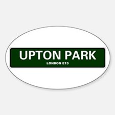 LONDON ROAD SIGNS - UPTON PARK - LONDON E1 Decal