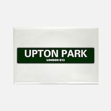 LONDON ROAD SIGNS - UPTON PARK - LONDON E1 Magnets