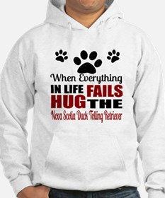 Hug The Nova Scotia Duck Tolling Hoodie
