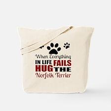 Hug The Norfolk Terrier Tote Bag