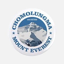 "Chomolungma (Mount Everest) 3.5"" Button"