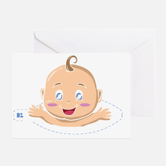 Funny pregnancy Greeting Card