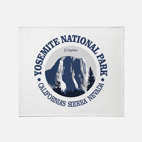 Yosemite 2 Throw Blanket