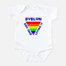 Evelyn Gay Pride (#005) Infant Bodysuit