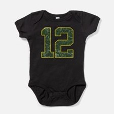 12 Aaron Rodgers Packer Marbl Body Suit