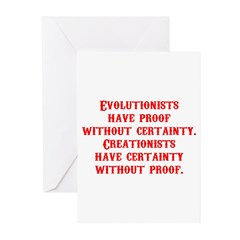 Evolutionists have proof with Greeting Cards (Pk o