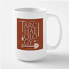 Archaeology Red Mug