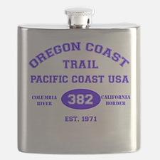 Oregon Coast Trail Flask