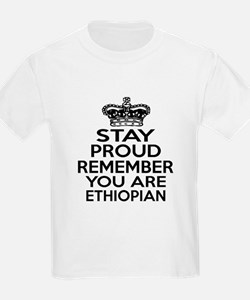 Stay Proud Remember You Are Eth T-Shirt