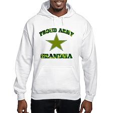 Proud army Grandma Hoodie