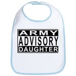 Army Daughter Advisory Bib
