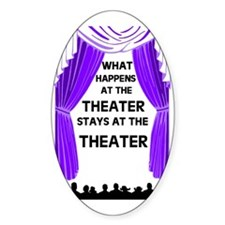 THEATER Oval Decal