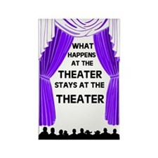 THEATER Rectangle Magnet (100 pack)