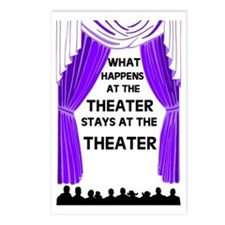 THEATER Postcards (Package of 8)