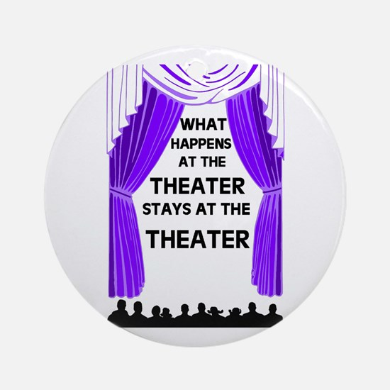 THEATER Ornament (Round)