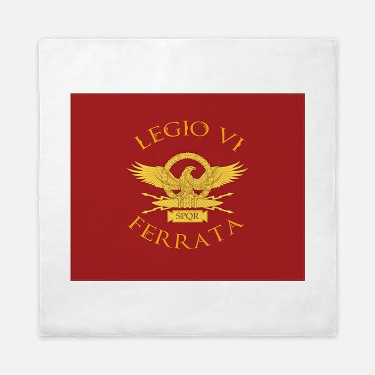 Legio VI-RED Queen Duvet