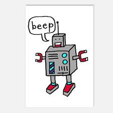 """Beep"" Postcards (Package of 8)"