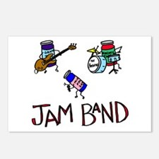 """Jam Band"" Postcards (Package of 8)"
