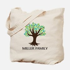Personalized Genealogy Family Tree Tote Bag