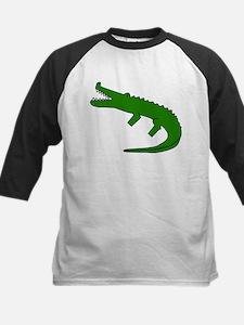Alligatorblackt Baseball Jersey