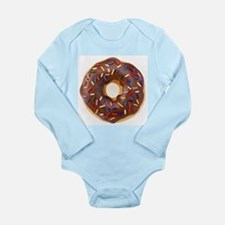 Frosted donut with sprinkles Body Suit