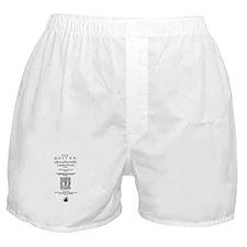 Romeo & Juliet Quarto (1599) Boxer Shorts