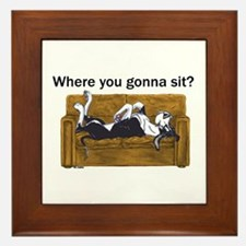 NMtl Where U Gonna Sit? Framed Tile