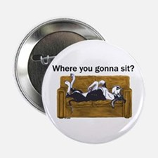 "NMtl Where U Gonna Sit? 2.25"" Button"