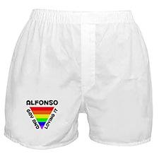 Alfonso Gay Pride (#006) Boxer Shorts