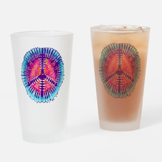 Cool Tye dye Drinking Glass