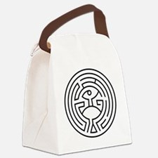 Cute Mysterious Canvas Lunch Bag