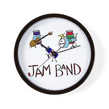 """Jam Band"" Wall Clock"