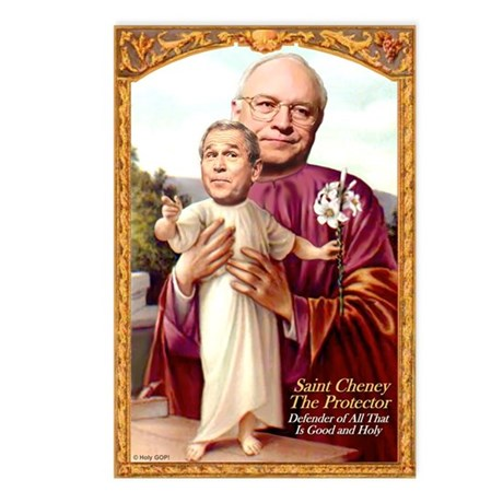 Saint Cheney Postcards (Package of 8)