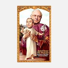 Saint Cheney Sticker for Votive Candle