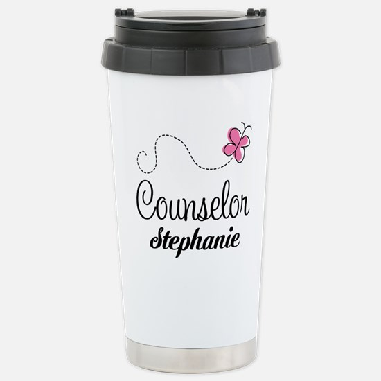 Personalized Counselor Gift Travel Mug