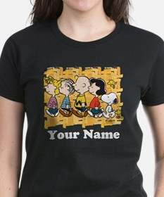 Peanuts Walking Personalized Tee