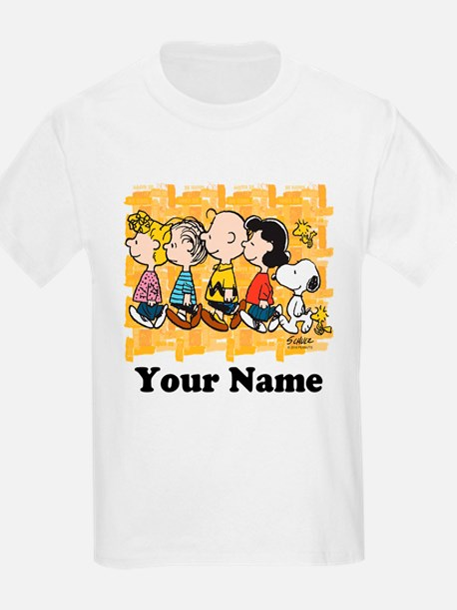 Peanuts Walking Personalized T-Shirt