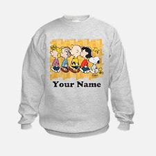 Peanuts Walking Personalized Sweatshirt