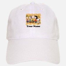 Peanuts Walking Personalized Baseball Baseball Cap