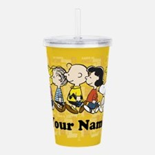 Peanuts Walking Person Acrylic Double-wall Tumbler