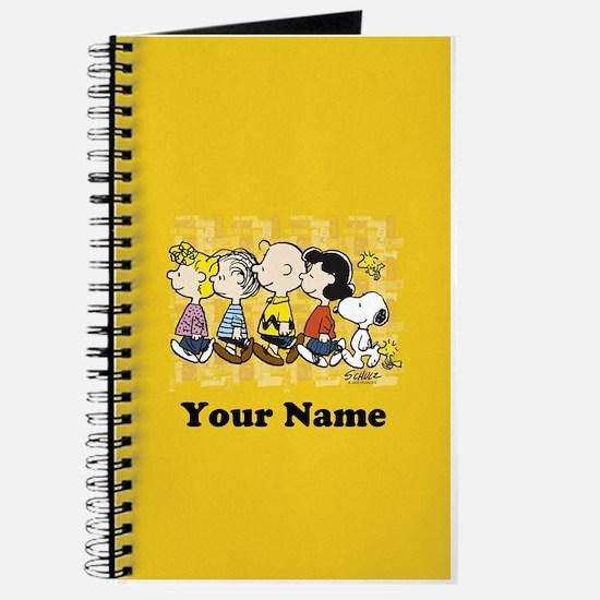 Peanuts Walking Personalized Journal
