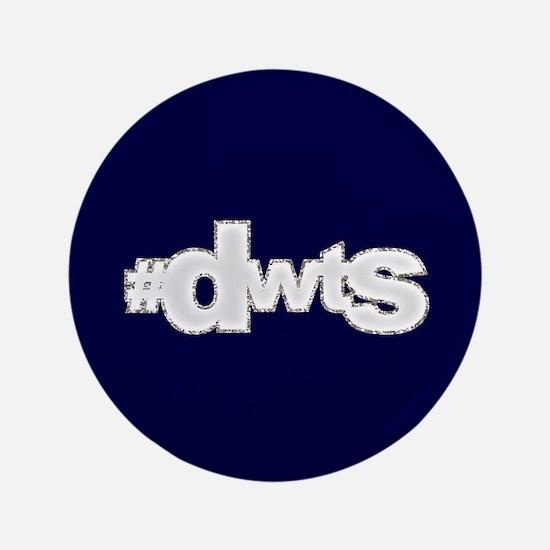 Glitter #DWTS Button