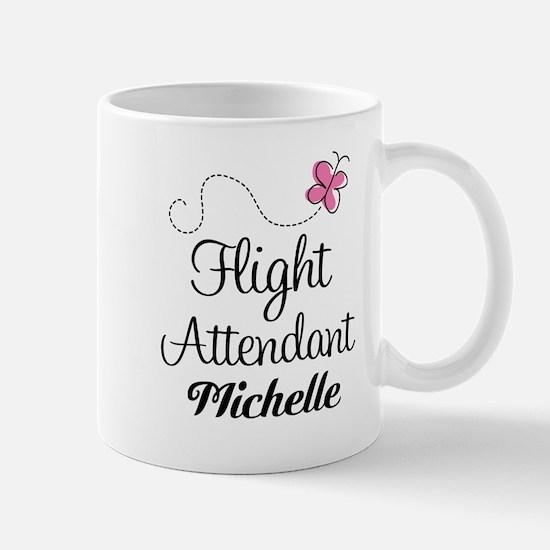 Personalized Flight Attendant Mugs