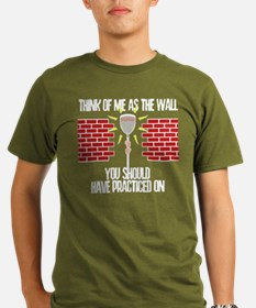 Lacrosse Goalie Wall T-Shirt